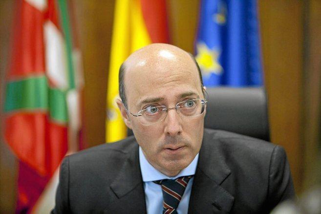 El delegado del Gobierno en el País Vasco, Carlos Urquijo.