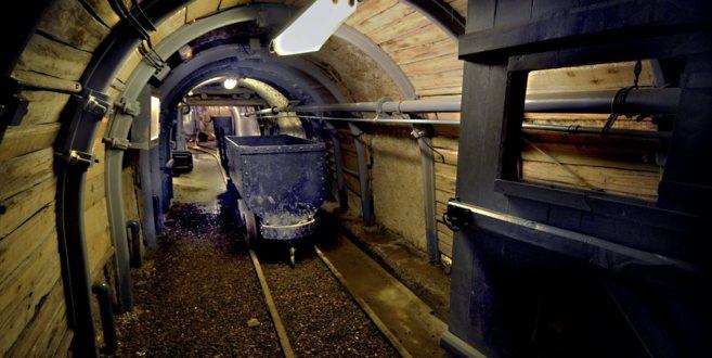 Galería principal de la mina Marcelo Jorissen.