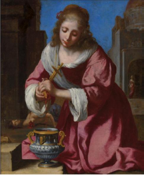 'San Práxedes', del pintor holandés Johannes Vermeer