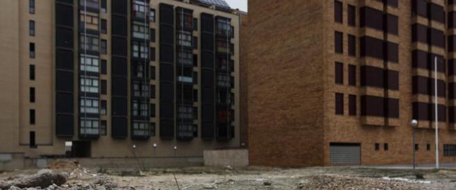Imagen de nuevas construcciones de viviendas en la periferia de Madrid