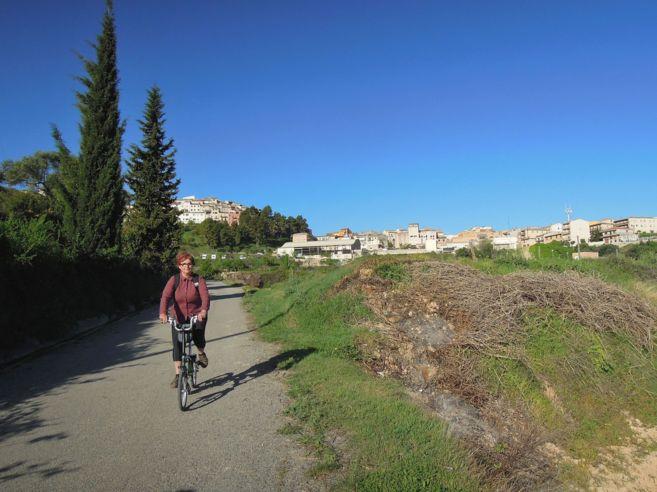 Deixant enrere Horta de Sant Joan.