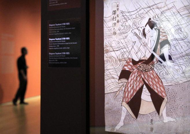 Uno de los grabados expuestos en el Bellas Artes de Bilbao.