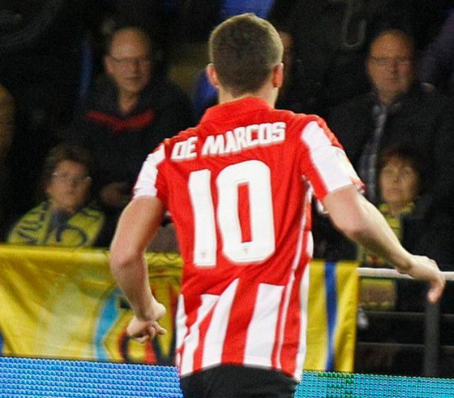 El jugador del Athletic Óscar de Marcos.
