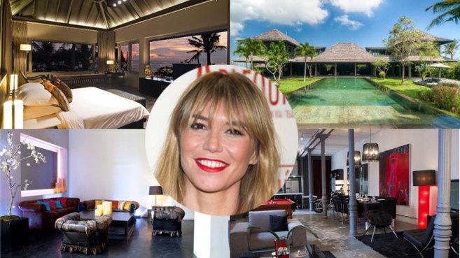 Arriba la villa de Bali en la que la actriz Raquel Meroño invirtió...
