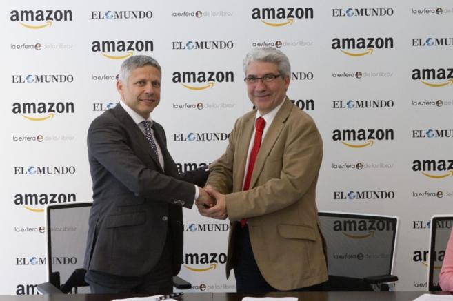 Ezequiel Szafir, vicepresidente de Contenido de Kindle Europa, con...