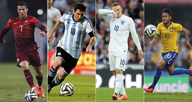 Mundial 2014  Los 10 jugadores mejor pagados del Mundial de Brasil ... bf1491489dee3