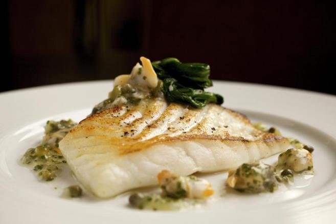 Una receta de pescado con verdura