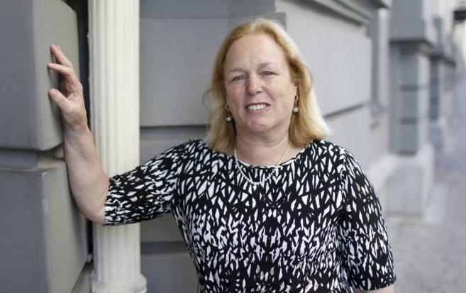 Martha Gray en una visita en Madrid en una jornada celebrada por el...