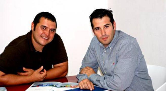 Los socios de Tecnos Ingenieros, Rubén Poza y Ricardo Gómez.