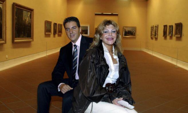 Tita Cervera y su hijo, Borja Thyssen, posaban así de sonrientes en...