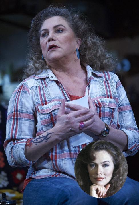 Kathleen Turner en una imagen reciente. La actriz fue una sex symbol...
