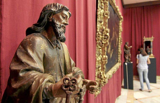 Una talla de la Escuela de Cristo de la Natividad del Señor, en la...