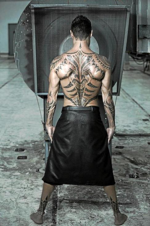 El jefe de la banda de los Miami, en una foto de espaldas.