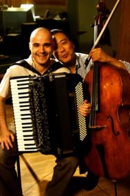 Víctor Prieto y Yo-Yo Ma.
