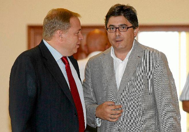 José Manuel Orengo y Alfred Boix, en una imagen de archivo.
