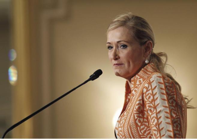 La delegada del Gobierno en Madrid, Cristina Cifuentes.