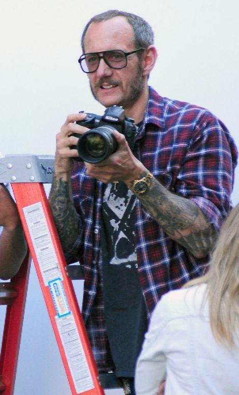 Richardson, el año pasado en una sesión de fotos.