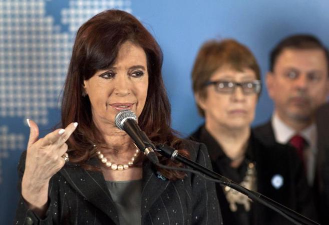 La presidenta de Argentina Cristina Fernández.