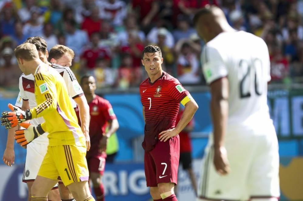 Cristiano no da crédito a la abultada derrota en un partido discreto...