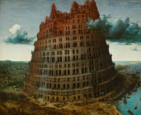'La Torre de Babel', de Brueghel.