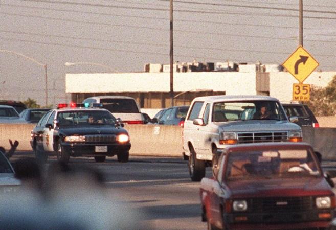 La fuga de O.J. Simpson, hace ahora 20 años.