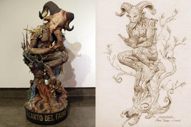 A la derecha, ilustración de Sandoval, a la izquierda el...
