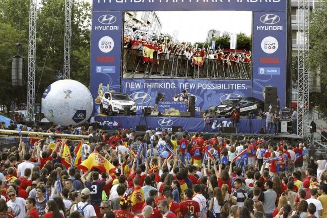 Los alrededores del Santiago Bernabéu vuelven a ser punto de...