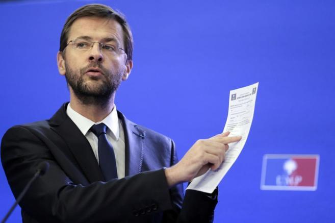 Jérôme Lavrilleux, director de la campaña de Sarkozy de 2012, en...