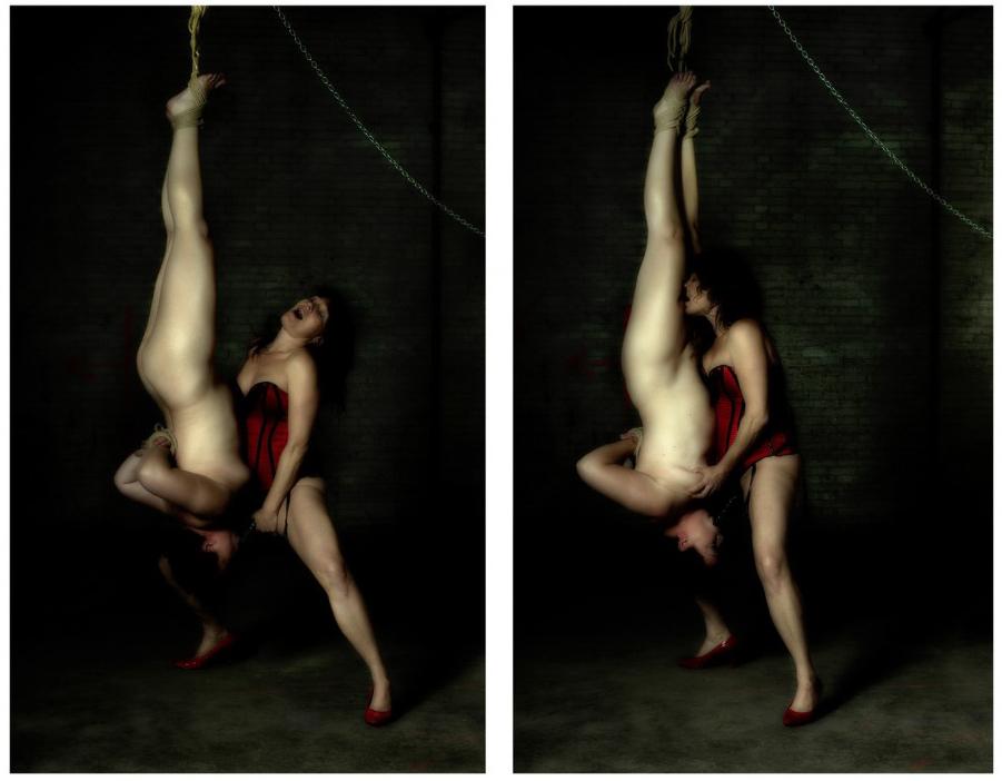 Pero el arte se considera en otra dimensión y la pornografía a mitad camino entre el instinto animal y físico y la intención de crear una obra de arte.