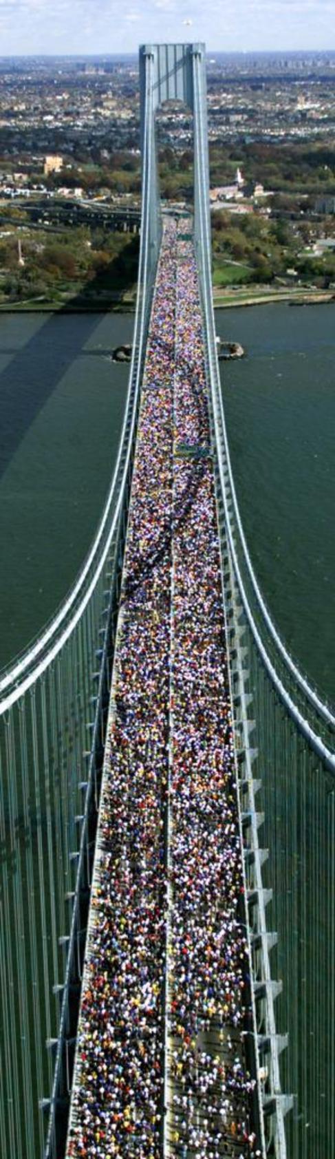 Imagen del Maratón de Nueva York.