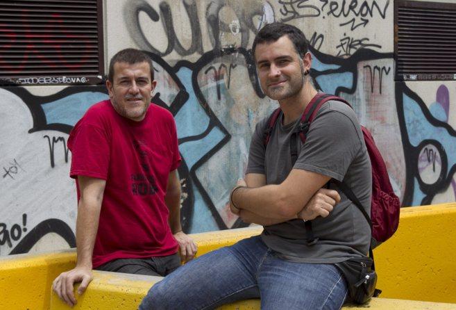 Xapo Ortega y Xavier Artigas, autores del documental 'Ciutat...