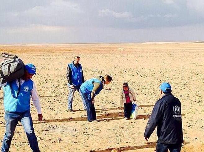 Marwan, un niño de 4 años, se despistó momentáneamente de su...