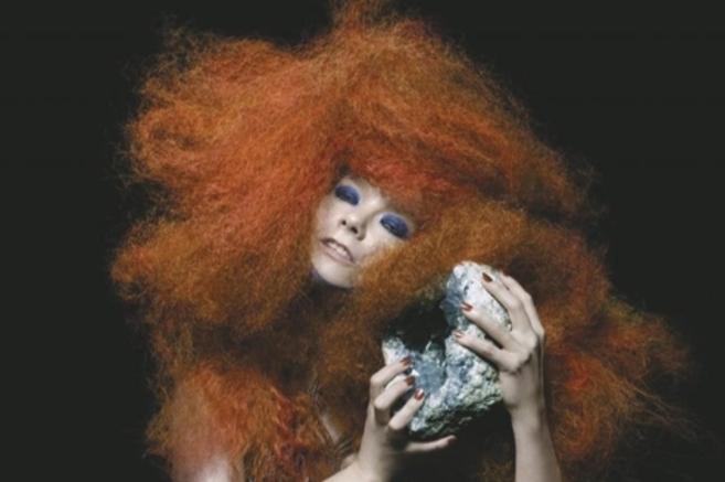 La cantante islandesa Björk