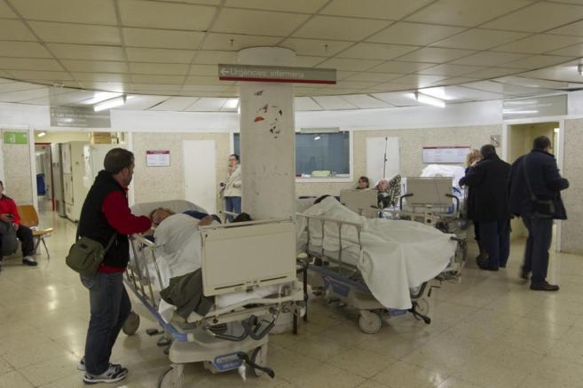 Planta del hospital de Bellvitge, en una foto de archivo