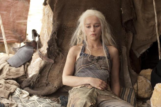 Emilia Clarke, en el papel de Daenerys.