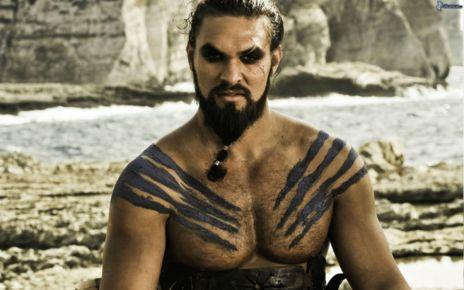 Jason Momoa interpreta a Khal Drogo en 'Juego de tronos'.