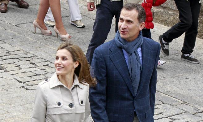 El Rey Felipe VI y la Reina Letizia el día que acudieron a Toledo...