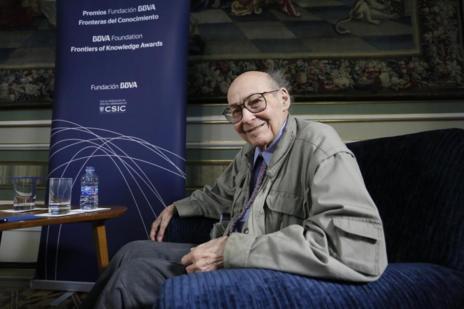 Marvin Minsky en Madrid.