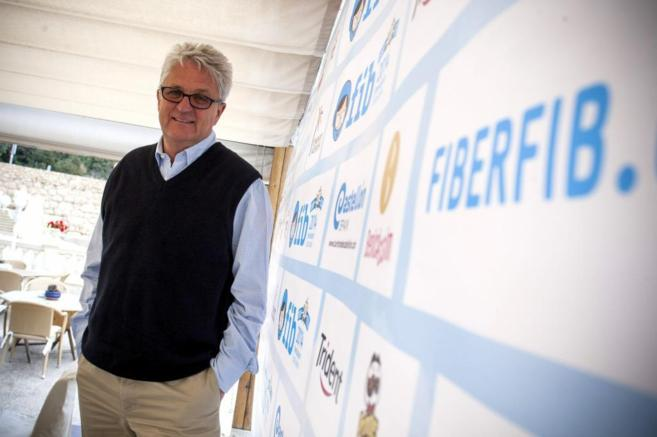 El director del FIB, Melvin Benn, durante la presetación del Festival...