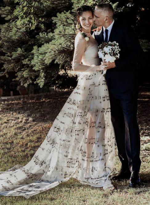 Foto que la pareja colgó en Facebook.