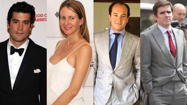 Alejandro Santodomingo,  Vega Royo-Villanova, Ramón Hermosilla y...