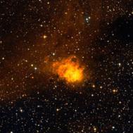 Imagen óptica de NGC7538