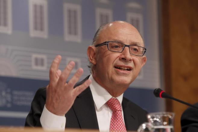 Cristobal Montóro, ministro de Hacienda.