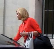 La Infanta Cristina, ayer.