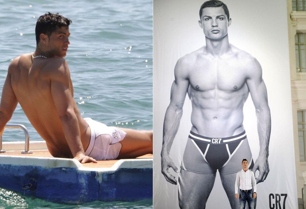 Cristiano Ronaldo, 29 años. No necesita modelo para su propia marca...