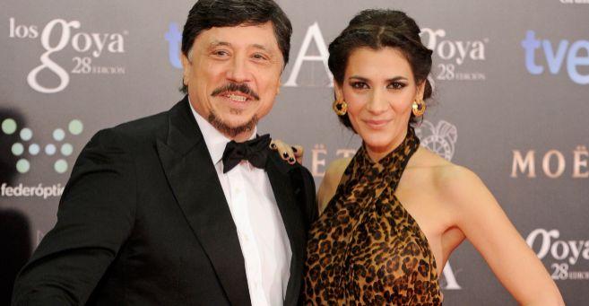 Carlos Bardem y su novia, en una imagen reciente.