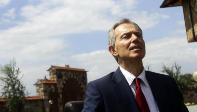 El ex primer ministro británico, el laborista Tony Blair.