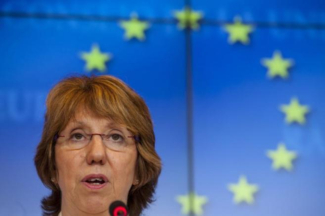 La jefa de la Diplomacia europea, Catherine Ashton.