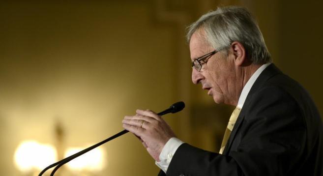 El aspirante conservador a presidir la Comisión Europea, Jean-Claude...