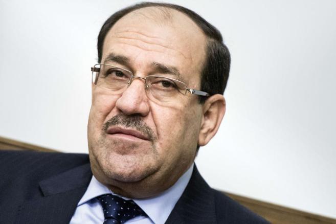 El primer ministro iraquí, Nuri Maliki, en Bagdad.